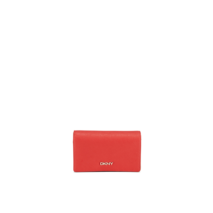 CORAL DKNY SAFFIANO LEATHER MEDIUM CARRYALL Outlet Online