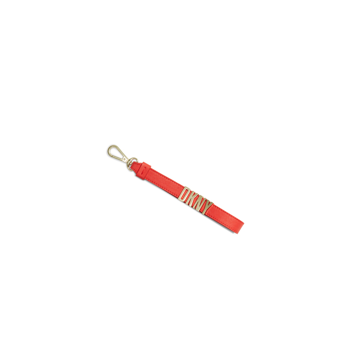 CORAL DKNY SAFFIANO LEATHER KEY FOB Outlet Online