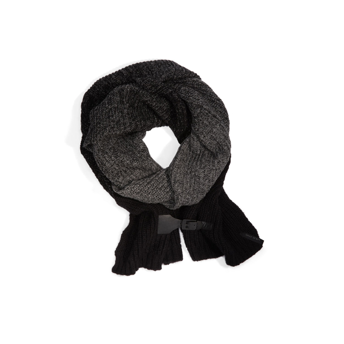 BLACK/MHG DKNY MOHAIR SCARF Outlet Online