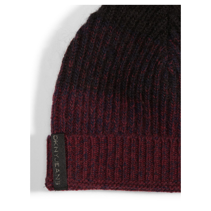 NAVY/CHERRY DKNY MOHAIR HAT Outlet Online