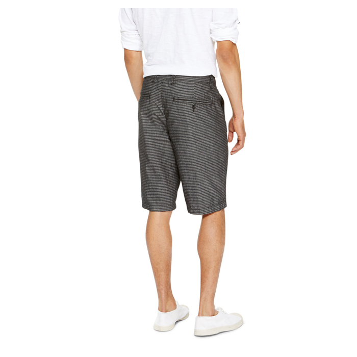 BLACK DKNY JEANS THIN STRIPE SHORTS Outlet Online