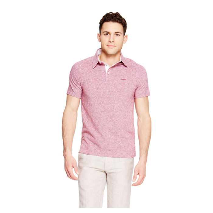 HAWTHORN DKNY COTTON LINEN POLO Outlet Online