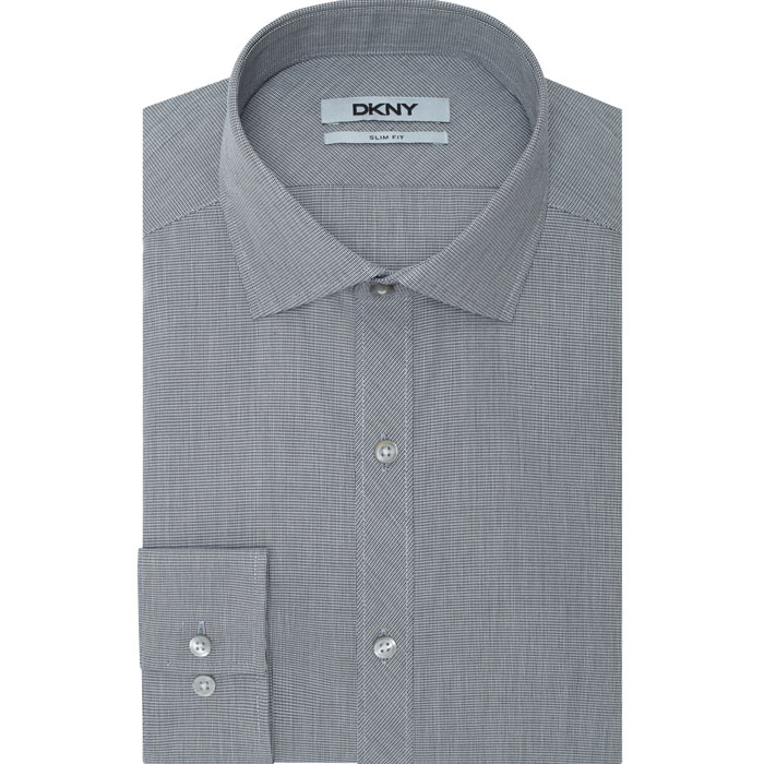 LICORICE DKNY NEW YORK SPREAD DRESS SHIRT Outlet Online