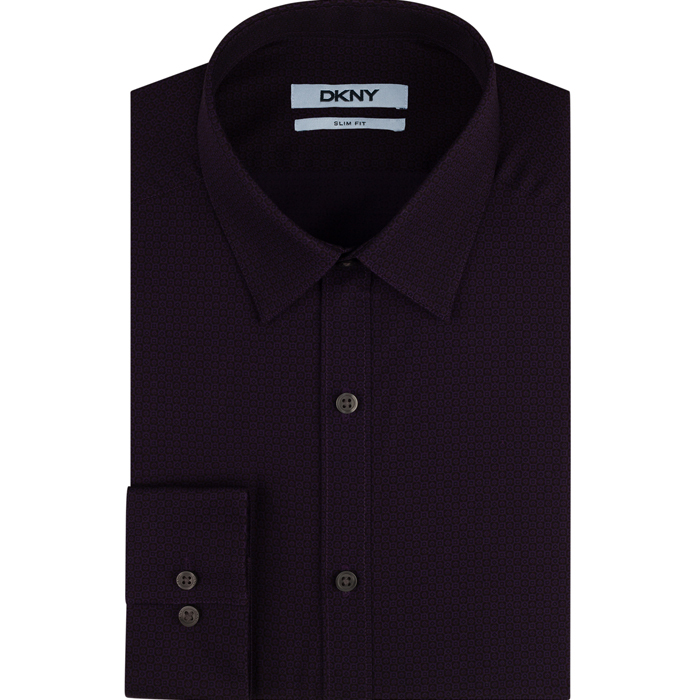 FIG DKNY CARBON FINISH DRESS SHIRT Outlet Online