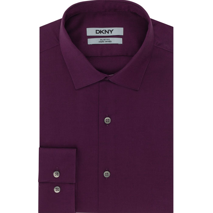CRANBERRY DKNY NAILHEAD DRESS SHIRT Outlet Online