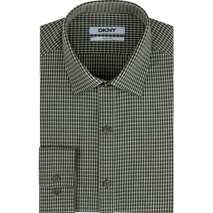MEADOW DKNY CHECK DRESS SHIRT Outlet Online
