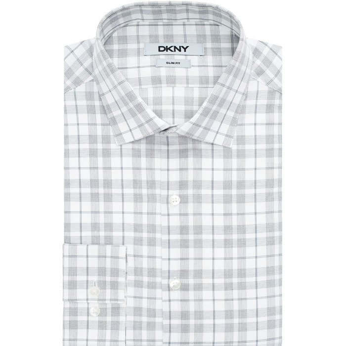STONE DKNY STRIPED CHECK DRESS SHIRT Outlet Online