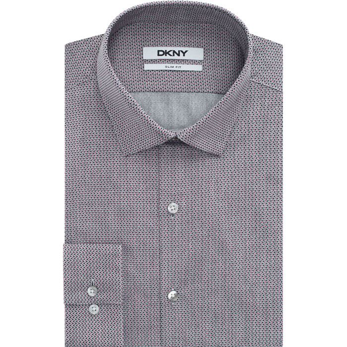 TEA ROSE DKNY MULTI PIN DOT DRESS SHIRT Outlet Online