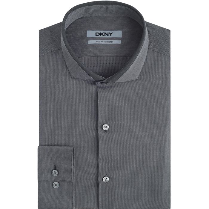 CARBON DKNY CUTAWAY COLLAR DRESS SHIRT Outlet Online