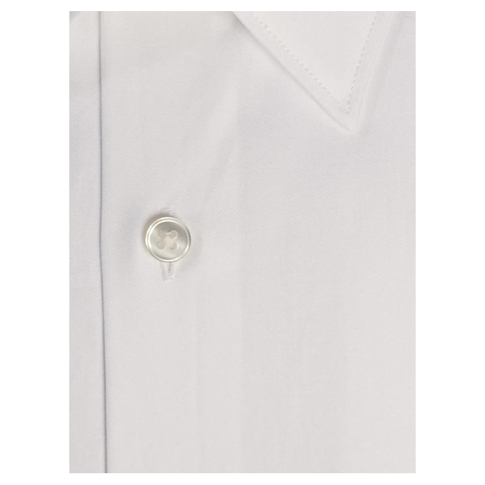 WHITE DKNY CLASSIC SLIM FIT DRESS SHIRT Outlet Online