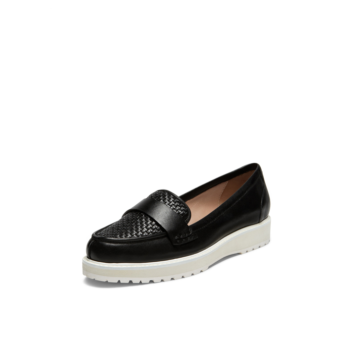 BLACK DKNY LIAN MOC LOAFER Outlet Online
