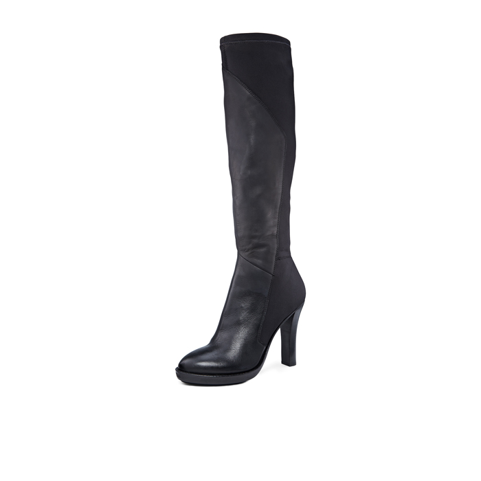 BLACK DKNY PASCAL KNEE HIGH BOOT Outlet Online