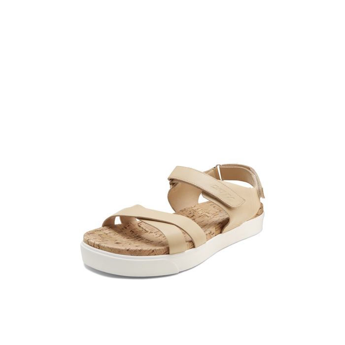 BUFF DKNY BRITTANY LEATHER SANDAL Outlet Online