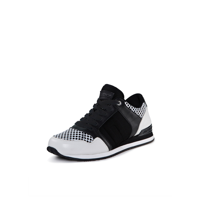 WHITE-BLACK DKNY JILL SPORTY SCUBA SNEAKER Outlet Online