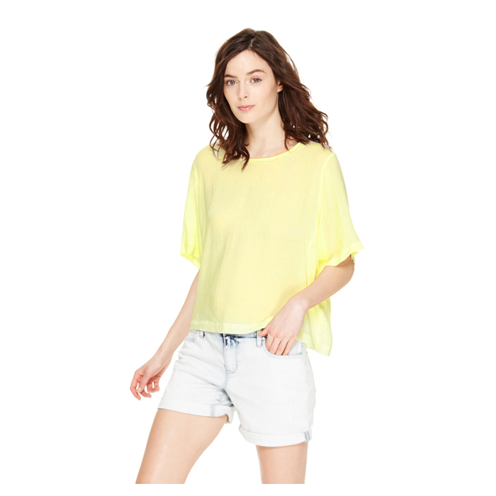 SUNBEAM DKNY DKNYPURE ELBOW SLEEVE TEE Outlet Online