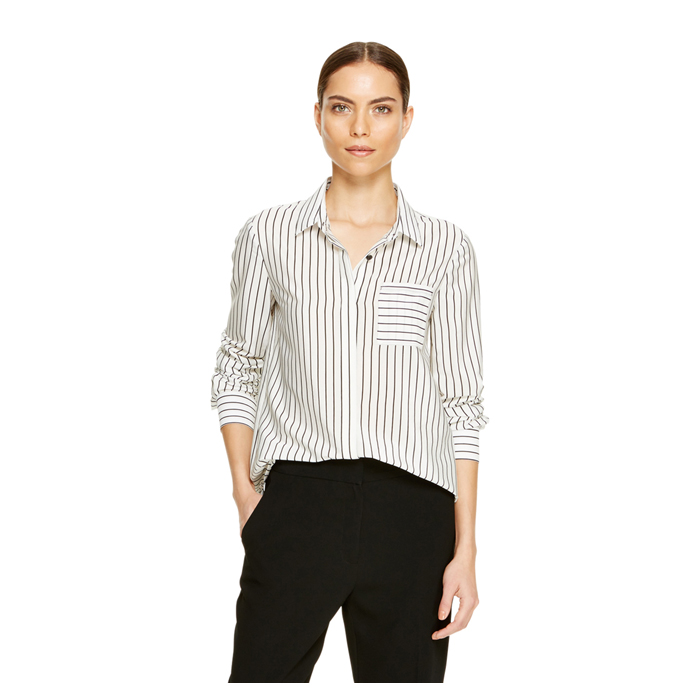 OFF WHITE DKNY STRIPE BUTTON THRU SHIRT Outlet Online