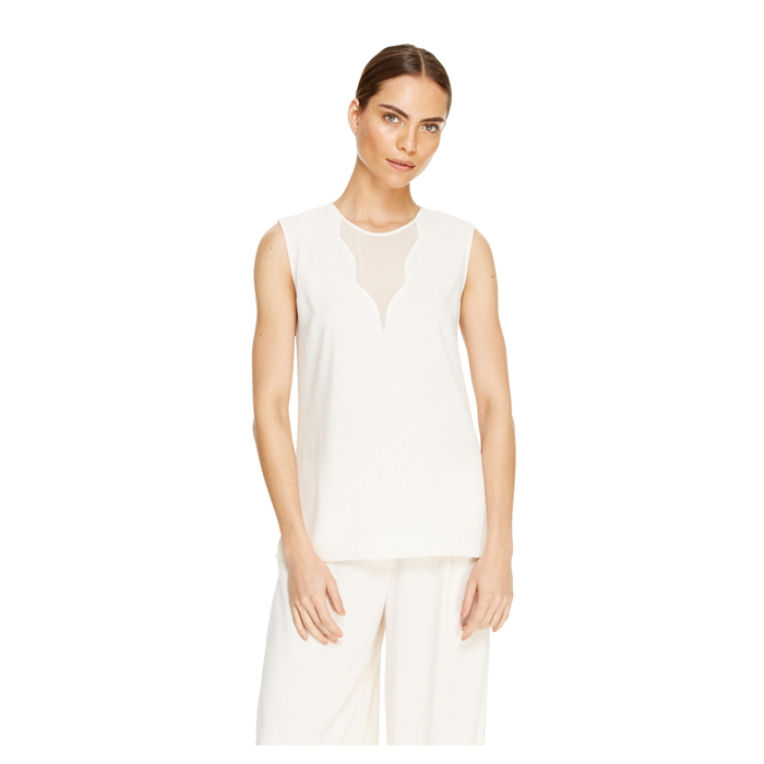 MUSLIN DKNY SLEEVELESS V-NECK TOP Outlet Online