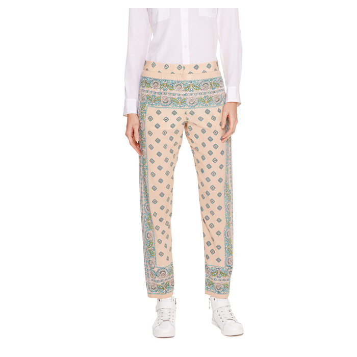 PALE POWDER DKNY PAISLEY PRINT NARROW PANT Outlet Online