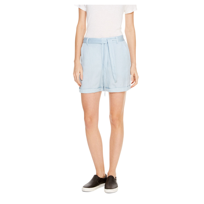 OXFORD BLUE DKNY DKNYPURE TIE WAIST SHORTS Outlet Online