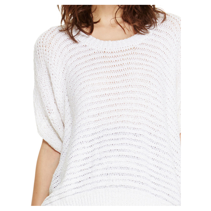 WHITE DKNY DOLMAN SLEEVE PULLOVER Outlet Online