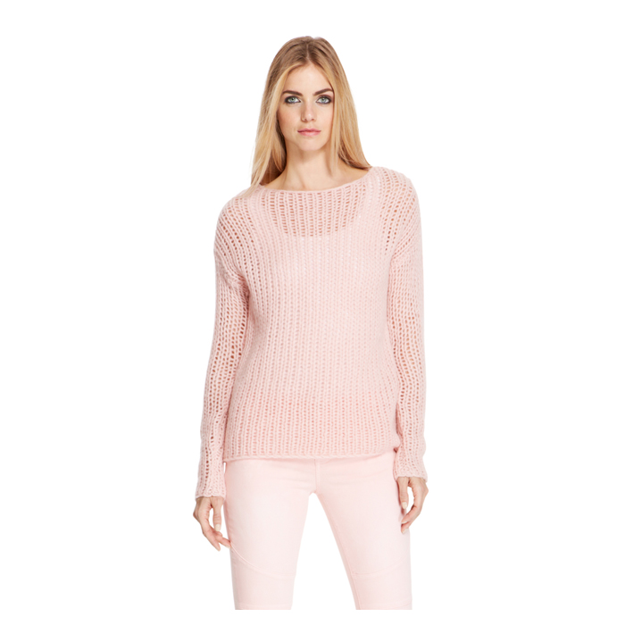 BLUSH DKNY LOFTY BOATNECK PULLOVER Outlet Online