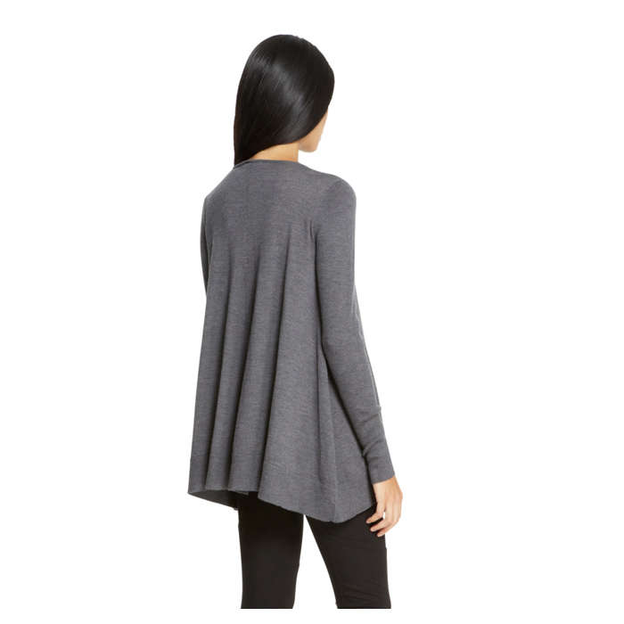 HEATHER GREY DKNY SCOOPNECK SWEATER Outlet Online