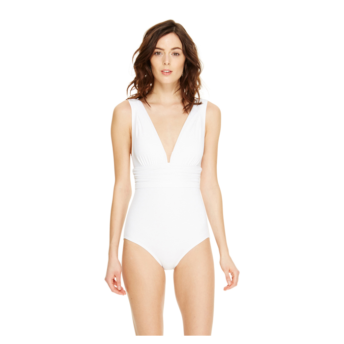 WHITE DKNY SLIMMING ONE-PIECE Outlet Online