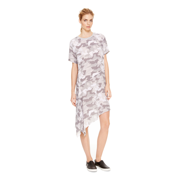 RAIN DKNY DKNYPURE CAMO PRINT DRESS Outlet Online