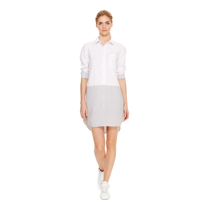 RAIN DKNY DKNYPURE COLOR BLOCK TUNIC DRESS Outlet Online