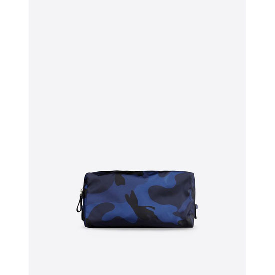 VALENTINO CAMOUFLAGE WASHBAG IN NYLON HYP00484-ANY302 M30 Outlet Online