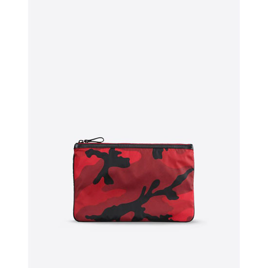 VALENTINO CAMOUFLAGE POUCH IN NYLON HYP00483-ANY302 R77 Outlet Online