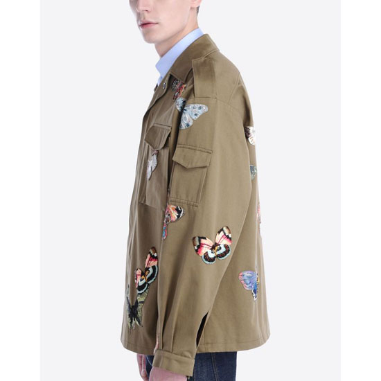 VALENTINO EMBROIDERED CAMUBUTTERFLY JACKET IV0CSSF22AW 825 Outlet Online