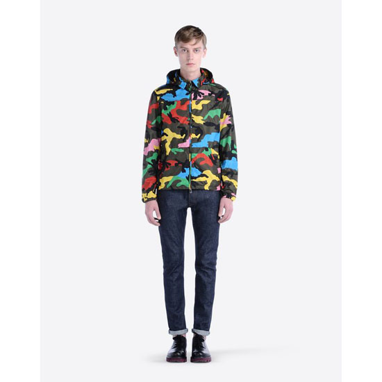 VALENTINO HOODED WIND JACKET IV0CIB51290 F80 Outlet Online