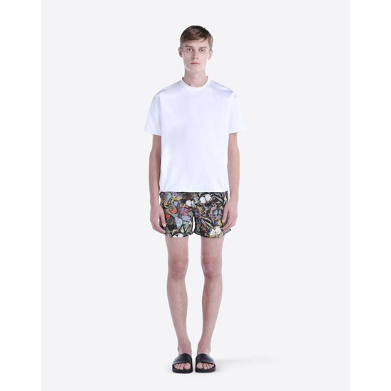 VALENTINO CAMUBUTTERFLY-PRINTED SWIM SHORTS IV0UH02529D E00 Outlet Online