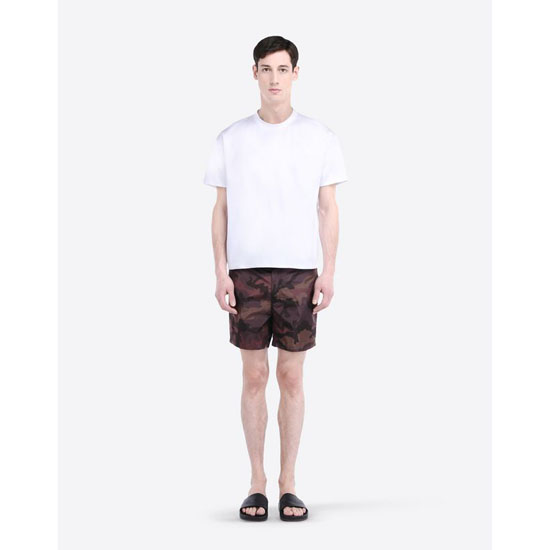 VALENTINO CAMOUFLAGE-PRINTED SWIM SHORTS IV0UH030290 F31 Outlet Online