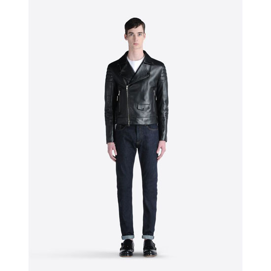 VALENTINO LEATHER BIKER HVA5P018-VP0710 013 Outlet Online