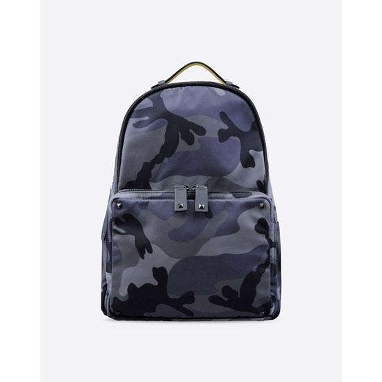 VALENTINO NYLON CAMOUFLAGE BACKPACK IY0B0340NE5 S01 Outlet Online