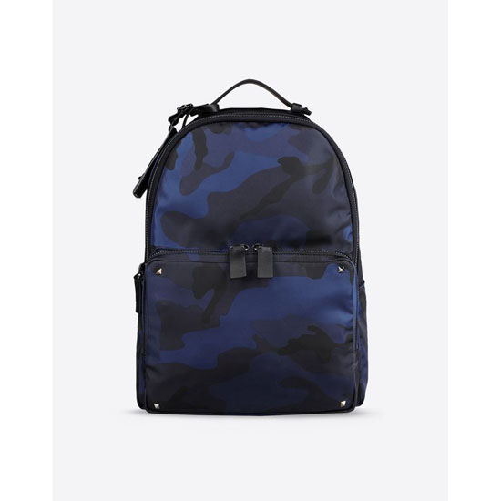 VALENTINO CAMOUFLAGE BACKPACK IN NYLON HYR00340-ANY802 M30 Outlet Online
