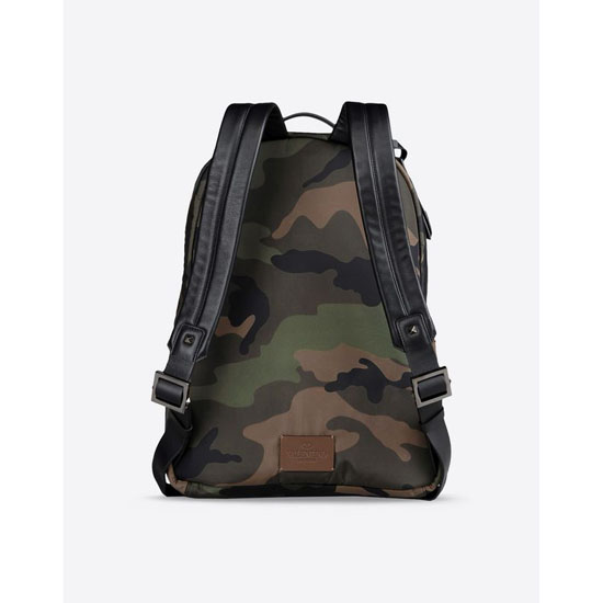 VALENTINO CAMOUFLAGE BACKPACK IN NYLON HYR00340-ANY802 Y20 Outlet Online