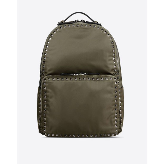 VALENTINO ROCKSTUD BACKPACK IN CALFSKIN IY0B0410NOV Y20 Outlet Online