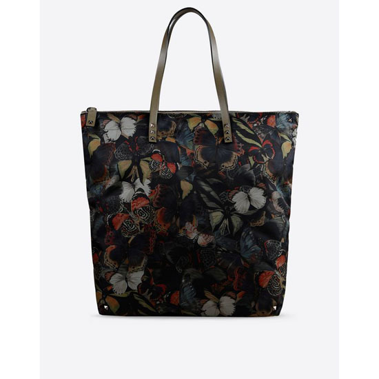 VALENTINO NYLON CAMUBUTTERFLY TOTE IY0B0445NCS Y20 Outlet Online