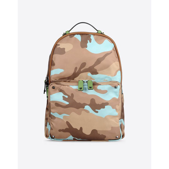 VALENTINO CAMOUFLAGE BACKPACK IY0B0340NE5 D22 Outlet Online