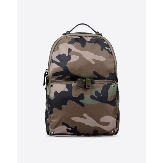 VALENTINO NYLON CAMOUFLAGE BACKPACK IY0B0340NE5 Y25 Outlet Online