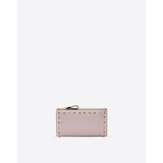 VALENTINO WATERCOLOR ROCKSTUD WALLET IW0P0301VDN 0AC Outlet Online