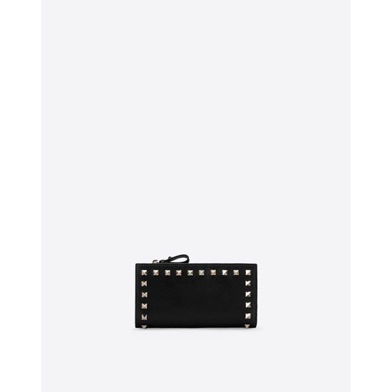 VALENTINO ROCKSTUD WALLET IW2P0301BOL 0NO Outlet Online