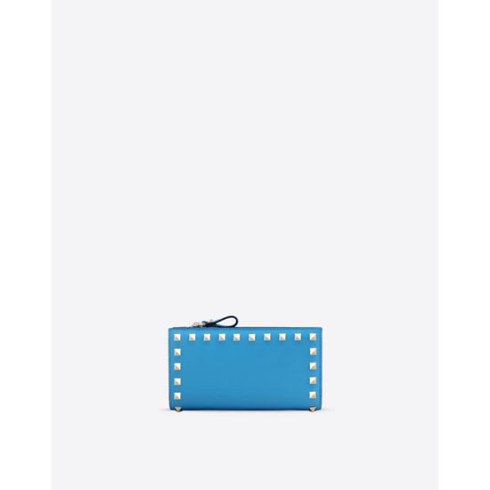 VALENTINO ROCKSTUD WALLET IW2P0301BOL O98 Outlet Online