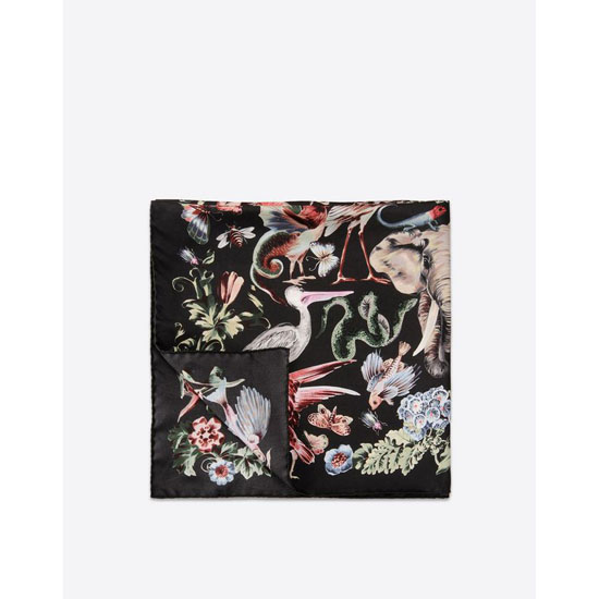 VALENTINO FOULARD 90X90 CM HLVF9090-S8986 1 Outlet Online