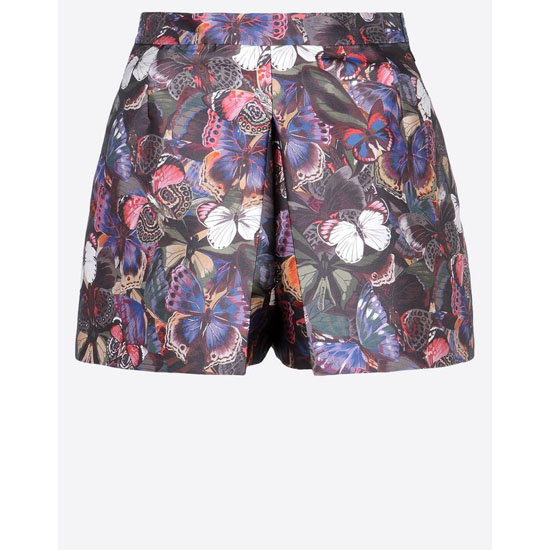 VALENTINO CAMU BUTTERFLY SCUBA PANT-SKIRT HB3GNS60-V40886B M00 Outlet Online
