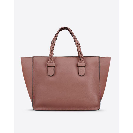 VALENTINO TOTE WITH BRAIDED HANDLES HWB00808-AVSL01 B17 Outlet Online