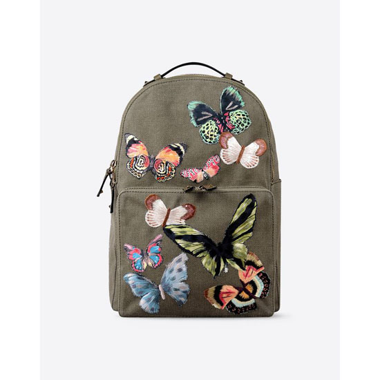 VALENTINO CAMU BUTTERFLY BACKPACK IW2B0857CSJ-Y20 Outlet Online